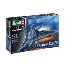 Revell 1:72 Kamov Ka-58 Stealth Helicopter helikopter makett