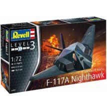 Revell 1:72 Lockheed Martin F-117A Nighthawk repülő makett