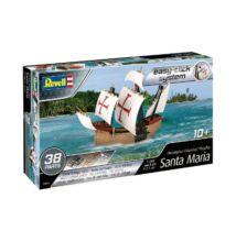 Revell 1:350 Christopher Colombus' Flagship Santa Maria Easy-Click hajó makett