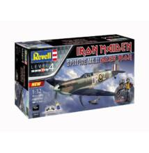Revell 1:48 Iron Maiden Spitfire Mk.II Aces High SET