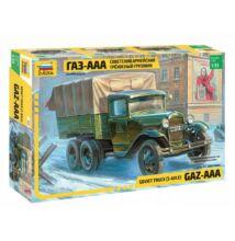 Zvezda 1:35 Soviet Truck (3-Axle) GAZ-AAA