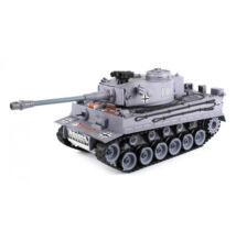 YHToys Tigris műanyaglövedékes távirányítós tank 43cm-es szürke