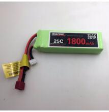 FT012 távirányítós versenyhajó akkumulátor 11.1V 1800MAH