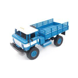 Valósághű Gaz-66 távirányítós teherautó 1/16 10km/h WPL B24 kék