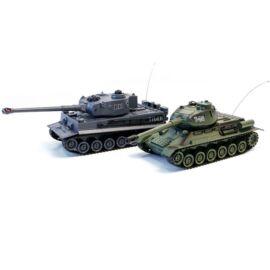 ZEGAN Tank csata szett T-34 - Tiger 1 ellen infra lövéssel 1/28