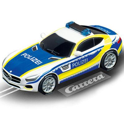 """Carrera GO!: Mercedes-AMG GT Coupé """"Rendőrség"""" pályaautó  1/43"""