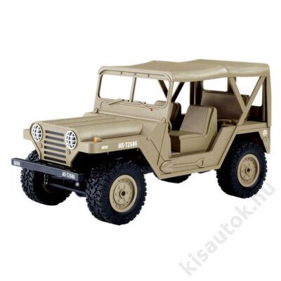 Subotech BG1522 4WD Off-road U.S. M151 Military Jeep 1/14 15km/h sivatagi