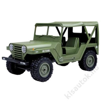Subotech BG1522 4WD Off-road U.S. M151 Military Jeep 1/14 15km/h olajzöld