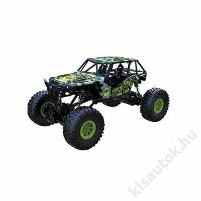 Rock Crawler 4WD távirányítós óriás sziklamászó autó 1/10 zöld