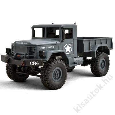 Funtek CR4 4WD Military Truck távirányítós teherautó 1/16 10km/h szürke