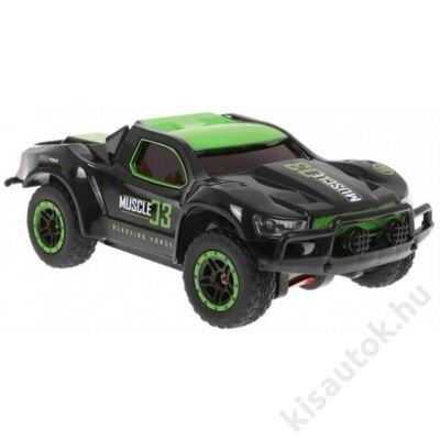 Mini rally kül- és beltéri távirányítós autó 15cm Muscle zöld-szürke