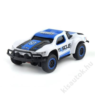 Muscle 50 mini rally autó 2.4Ghz 15cm kék