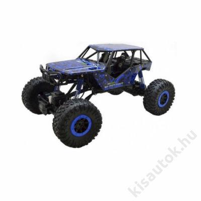 Óriás távirányítós sziklamászó autó 43cm Rock Crawler kék
