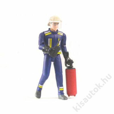 Bruder Bworld - Tűzoltó figura kiegészítőkkel