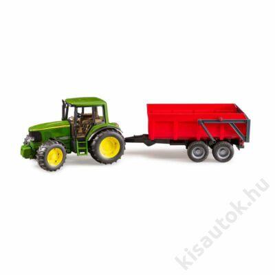 Bruder John Deere 6920 traktor utánfutóval
