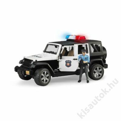 Bruder Jeep Wrangler Unlimited Rubicon rendőrségi jármű