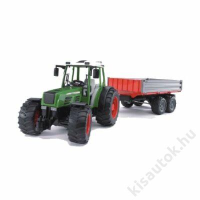 Bruder Fendt 209 traktor utánfutóval