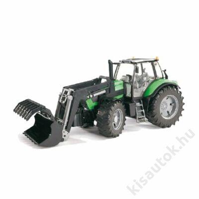Bruder Deutz Agrotron X720 markolós traktor