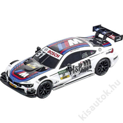 "Carrera GO!: BMW M4 DTM ""T. Blomqvist, No. 31"" pályaautó 1/43"