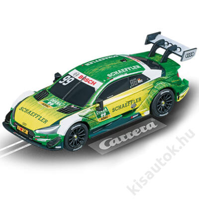 "Carrera GO!: Audi RS 5 DTM ""M. Rockenfeller, No.99"" pályaautó 1/43"