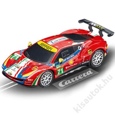 """Carrera GO!: Ferrari 488 GTE """"AF Corse, No. 71"""" pályaautó 1/43"""
