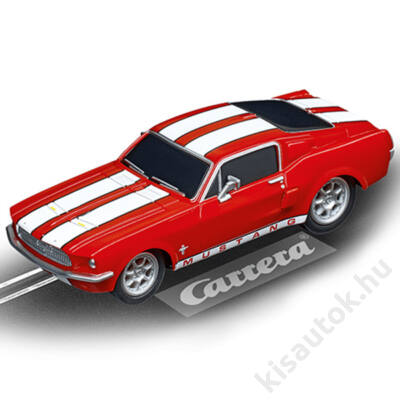 Carrera GO!: Ford Mustang '67 - Race Red pályaautó 1/43
