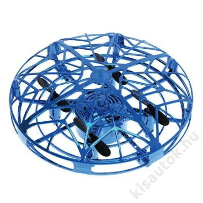 Kézmozdulatokkal irányítható gyerek UFO drón kék