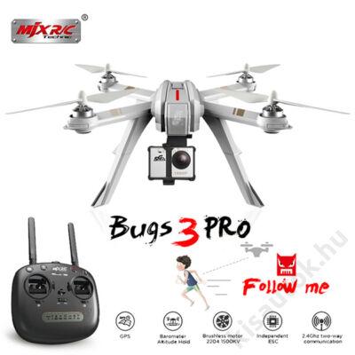 MJX Bugs3PRO brushless GPS drón 20p repülési idő C6000 akciókamerával