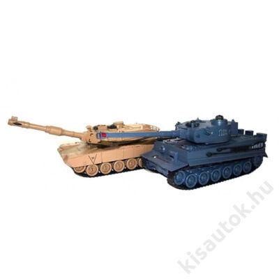ZEGAN Tank csata szett M1A2 Abrams - Tiger 1 ellen infra lövéssel 1/28 2.0