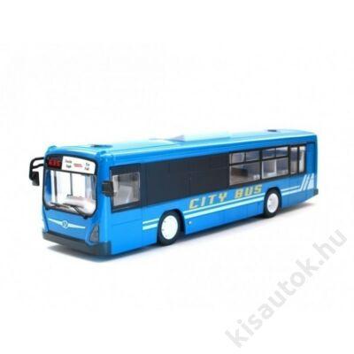 Távirányítós busz nyitható ajtóval hanggal lámpával 33cm E635-003 kék