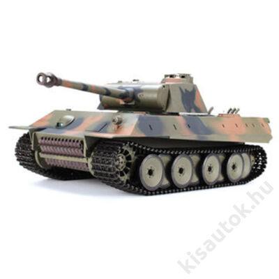 Heng Long German Panther műanyaglövedékes távirányítós tank 1/16 2.4Ghz