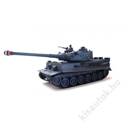 ZEGAN Tiger 1 távirányítós tank infra lövéssel 1/28 szürke