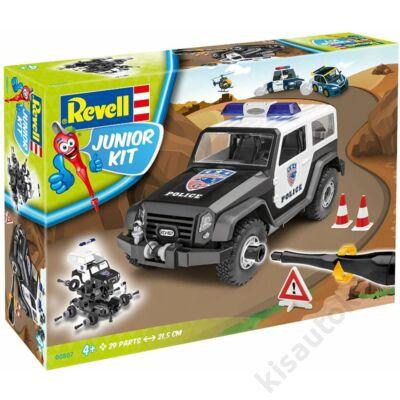 Revell 1:20 Rendőrségi terepjáró JUNIOR KIT autó makett