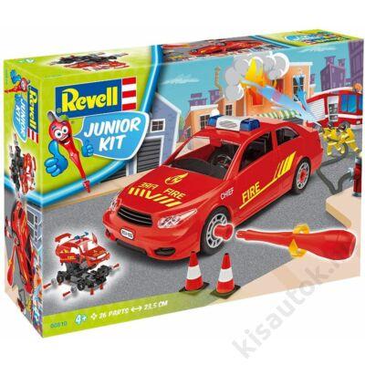 Revell 1:20 Tűzoltóparancsnok autó JUNIOR KIT