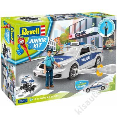 Revell 1:20 Rendőrautó rendőrrel JUNIOR KIT