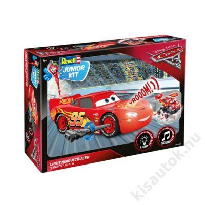 Revell 1:20 Lightning McQueen JUNIOR KIT verdák makett verdás makett