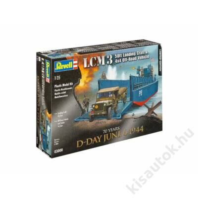 Revell 1:35 LCM3 50ft Landing Craft & 4x4 Off-Road Vehicle Limited Edition