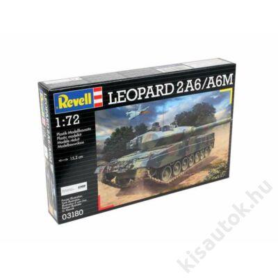 Revell 1:72 Leopard 2A6/A6M tank makett