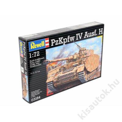Revell 1:72 PzKpfw IV Ausf. H tank makett
