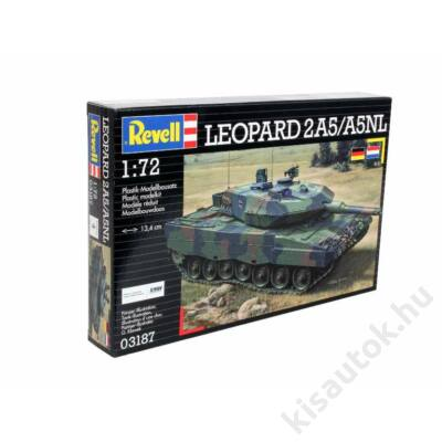 Revell 1:72 Leopard 2A5/A5NL