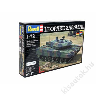 Revell 1:72 Leopard 2A5/A5NL tank makett