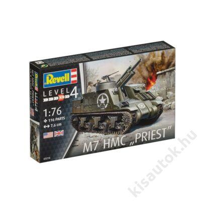 "Revell 1:76 M7 HMC ""Priest"" tank makett"