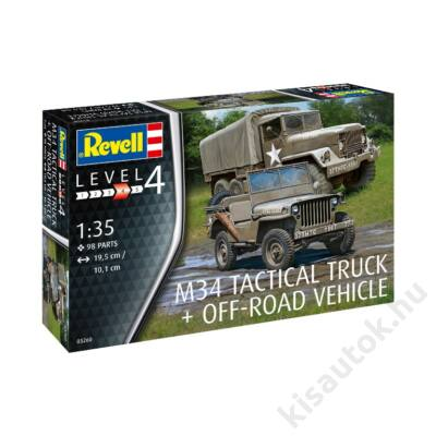 Revell 1:35 M43 Tactical Truck + Off-Road Vehicle