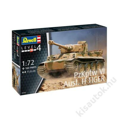 Revell 1:72 PzKpfw VI Ausf H Tiger tank makett