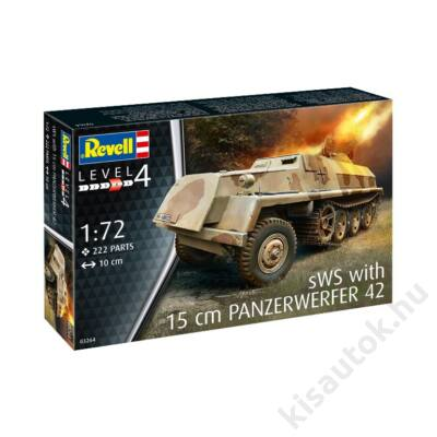Revell 1:72 sWS with 15cm Panzerwerfer 42