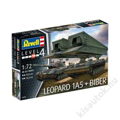 """Revell 1:72 Leopard 1A5 + Bridgelayer """"Biber"""""""