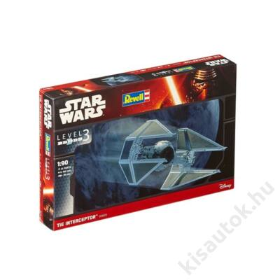 Revell 1:90 Tie Interceptor Star Wars makett