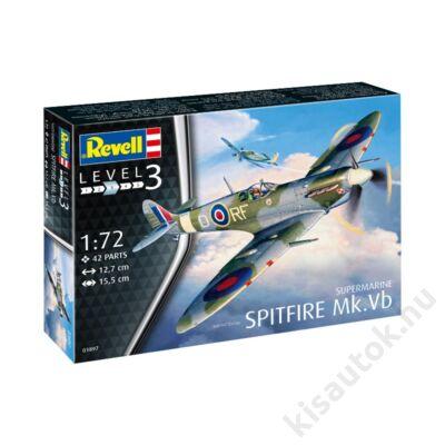 Revell 1:72 Supermarine Spitfire Mk. Vb repülő makett