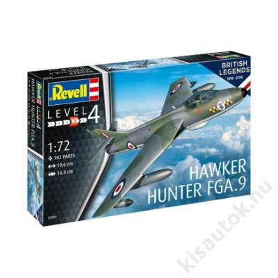 Revell 1:72 Hawker Hunter FGA.9 100 Years of British Legends