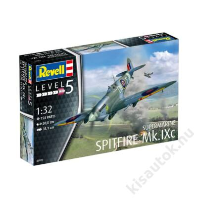 Revell 1:32 Supermarine Spitfire Mk.IXc repülő makett